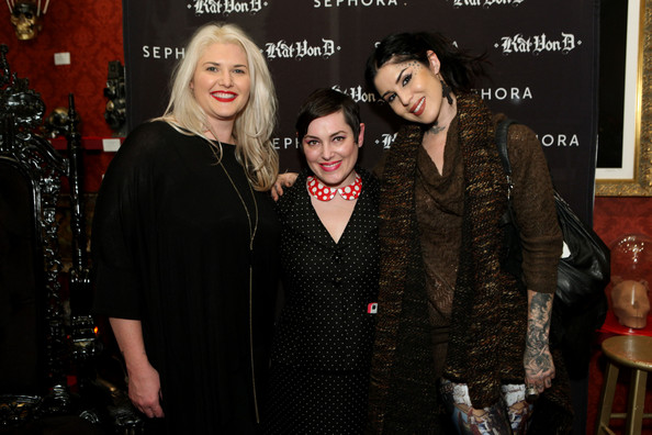 Sephora VIB Holiday Cocktail Party Hosted By Kat Von D