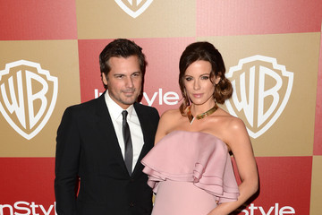Kate Beckinsale Len Wiseman 14th Annual Warner Bros. And InStyle Golden Globe Awards After Party - Arrivals