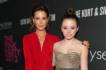 Kate Beckinsale Lily Mo Sheen FIJI Water At The 9th Annual Pink Party Benefiting The Cedars-Sinai Women's Cancer Program