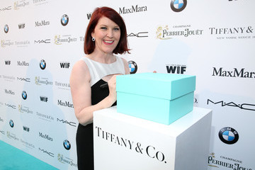 Kate Flannery Tiffany & Co At Women In Film Pre-Oscar Cocktail Party