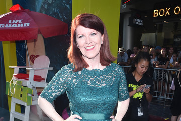 Kate Flannery Warner Bros. Pictures And Gravity Pictures' Premiere Of 'The Meg' - Red Carpet