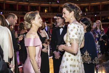 Kate Middleton The Duke And Duchess Of Cambridge Attend The EE British Academy Film Awards