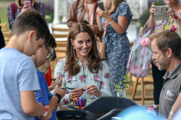 The Duchess Of Cambridge Attends 'Back to Nature' Festival