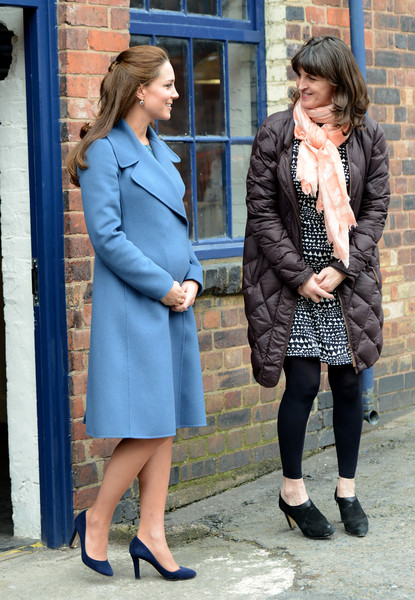 Kate Middleton - The Duchess Of Cambridge Visits Emma Bridgewater Factory