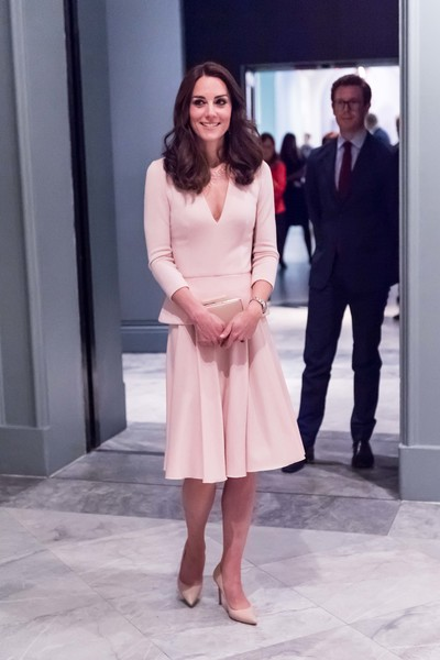 The Duchess of Cambridge Visits the 'Vogue 100: A Century of Style' Exhibition