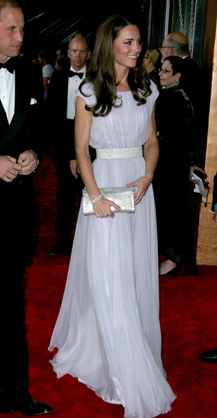 Kate Middleton - The Duke and Duchess of Cambridge Attend BAFTA Brits To Watch Event