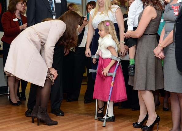 Kate Middleton - The Duke And Duchess Of Cambridge Official Visit To Peterborough