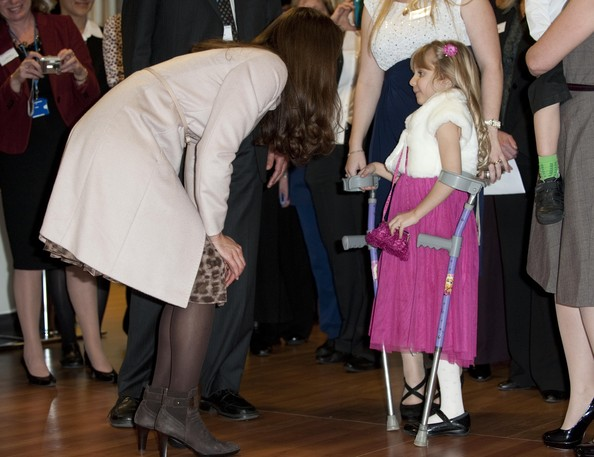 The Duke And Duchess Of Cambridge Official Visit To Peterborough