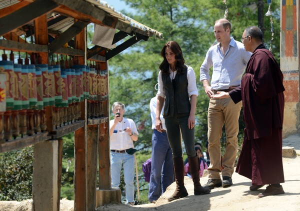 The Duke and Duchess of Cambridge Visit India and Bhutan - Day 6