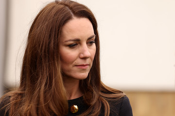 Kate Middleton The Duke And Duchess Of Cambridge Visit The Air Cadets At 282 East Ham Squadron