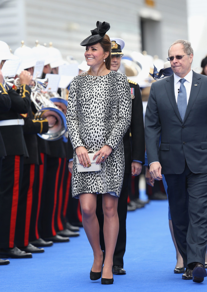 Kate Middleton - Kate Middleton Christens a Cruise Ship — Part 3
