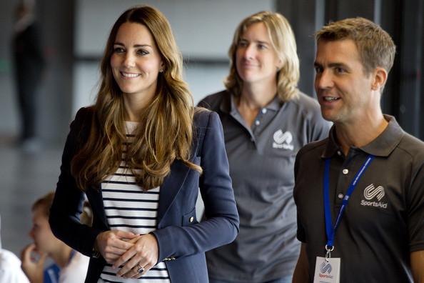 Kate Middleton - Kate Middleton Plays Volleyball at Olympic Park