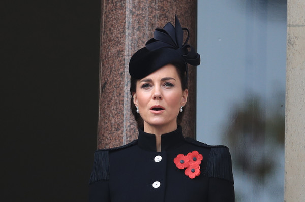 National Service Of Remembrance At The Cenotaph [guidelines,fashion,headgear,uniform,tradition,catherine,remembrance,duchess,fashion,services,the cenotaph,britain,cambridge,national service,headpiece,fashion,hat,dos gardenias stein square neck bralette bikini top,socialite,fashion accessory,hair,beauty.m]