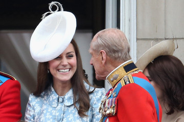 Kate Middleton Prince Philip Trooping The Colour