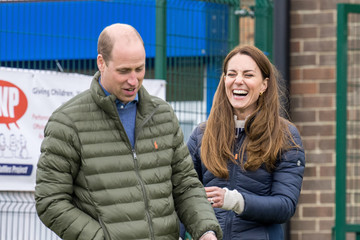 Kate Middleton The Duke And Duchess Of Cambridge Visit County Durham
