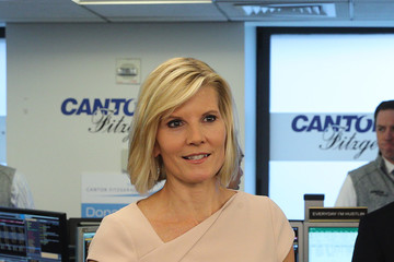 Kate Snow Annual Charity Day Hosted By Cantor Fitzgerald, BGC and GFI - Cantor Fitzgerald Office - Inside