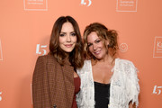 Katharine McPhee (L) and Kate Somerville attend The Kate Somerville Clinic Celebrates 15 Years On Melrose at Kate Somerville on October 10, 2019 in Los Angeles, California.