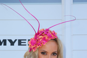 Kate Twigley Celebs Attend Melbourne Cup Day