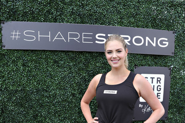 Kate Upton Kate Upton Leads Strong4Me Workout Event