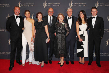 Kate Waterhouse Tom Waterhouse 2018 Sport Australia Hall Of Fame Annual Induction And Awards Gala Dinner