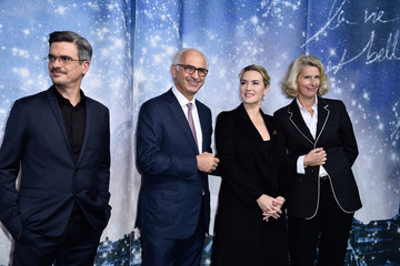 Kate Winslet Printemps Christmas Decorations Inauguration in Paris