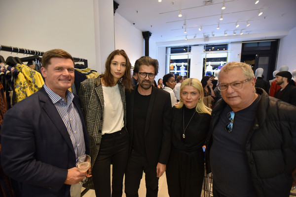 BCBGMAXAZRIA Celebrates SoHo Store Opening With Kate Young, Bernd Kroeber And InStyle