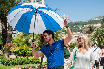 Katherine Kelly Lang 'Bold and the Beautiful' Stars Pose in Monaco