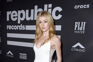 Katherine McNamara FIJI Water At Republic Records Grammy After Party