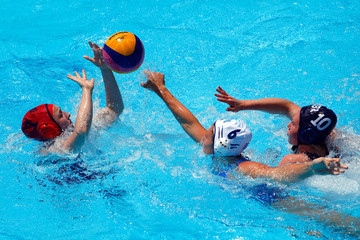 Katherine Rogers Water Polo at the 1st European Games