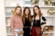 (L-R) Whitney Port, Katherine Schwarzenegger, and Louise Roe attend Galentine's Day Glow with Biossance hosted by Katherine Schwarzenegger at Alo Yoga Beverly Hills on February 12, 2019 in Beverly Hills, California.