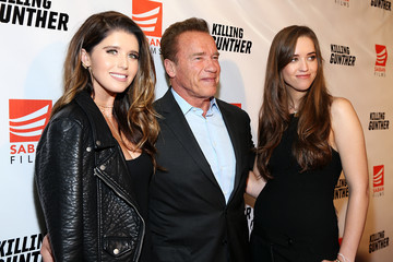 Katherine Schwarzenegger Stars Attend the 'KILLING GUNTHER' Premiere