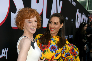 Kathy Griffin Premiere Of Orion Pictures And United Artists Releasing's 'Child's Play' - Red Carpet