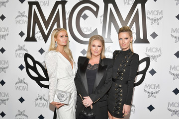 Kathy Hilton MCM Global Flagship Store Grand Opening On Rodeo Drive - Arrivals
