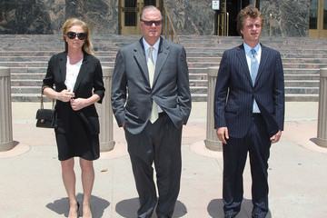 Kathy Hilton Court Appearance and Sentencing for Conrad Hilton