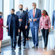 Kathy Hochul The Duke And Duchess Of Sussex Visit One World Observatory With NYC Mayor Bill De Blasio