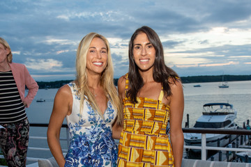 Katie Amato Brooke Montag Hamptons Magazine Molly Sims Cover Dinner