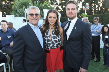 Katie Cassidy Stephen Amell CW, CBS And Showtime 2012 Summer TCA Party - Inside