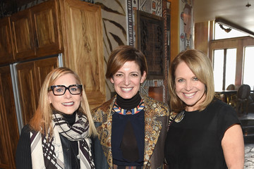 Katie Couric Cindi Leive Glamour's Women Rewriting Hollywood Lunch At Sundance Hosted By Lena Dunham, Jenni Konner And Cindi Leive - 2016 Park City