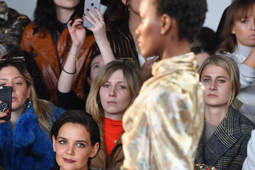 Katie Holmes Zimmermann - Front Row - February 2018 - New York Fashion Week: The Shows