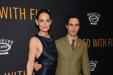 Katie Holmes Zac Posen 'Touched with Fire' New York Premiere