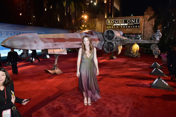 Katie Leclerc The World Premiere of 'Rogue One: A Star Wars Story'
