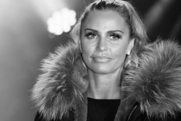 Katie Price Katie Price Switches on the Woking Shopping Christmas Lights