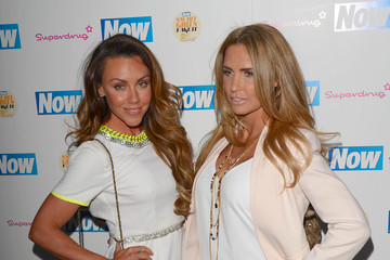 Katie Price Now Smart Girls Fake It Campaign - Arrivals