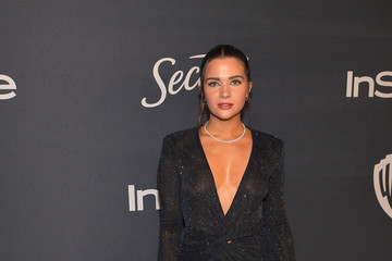 Katie Stevens The 2020 InStyle And Warner Bros. 77th Annual Golden Globe Awards Post-Party - Red Carpet