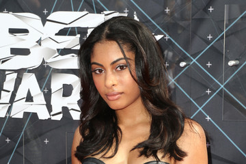 Katlynn Simone Celebs Arrive at the 2015 BET Awards