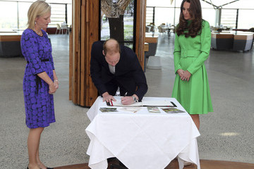 Katy Gallagher Prince William and Kate Middleton in Canberra — Part 7