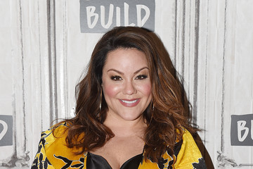 Katy Mixon Celebrities Visit Build - February 21, 2018