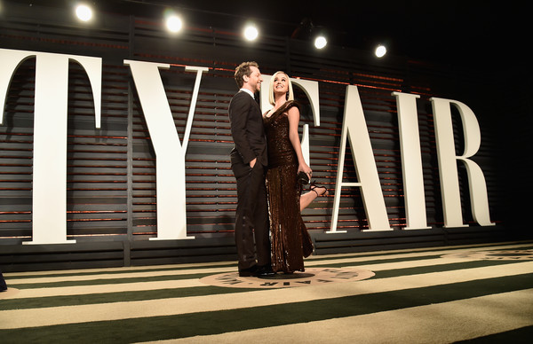 2017 Vanity Fair Oscar Party Hosted By Graydon Carter - Arrivals [oscar party,vanity fair,fashion,dress,fashion design,formal wear,performance,event,photography,night,stage,performing arts,beverly hills,california,wallis annenberg center for the performing arts,derek blasberg,katy perry,graydon carter - arrivals,graydon carter]