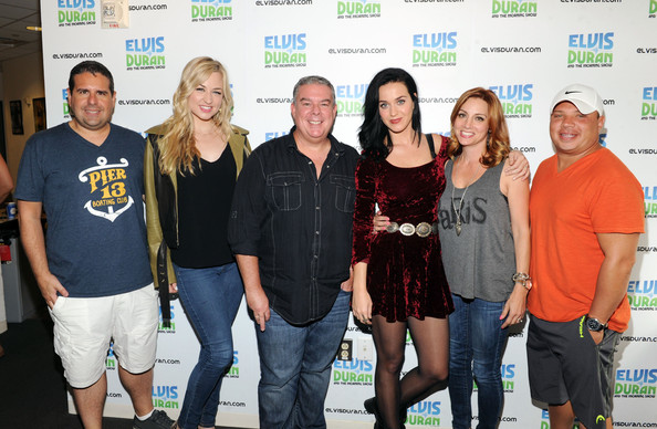 Katy Perry and Elvis Duran Photos Photos - Katy Perry Visits