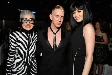 Katy Perry Jeremy Scott MOCA's 35th Anniversary Gala Presented By Louis Vuitton At The Geffen Contemporary At MOCA - Inside